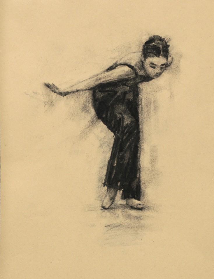 Carl Chapple, Risa Yokoyama (Ballet Cymru Rehearsal 210)