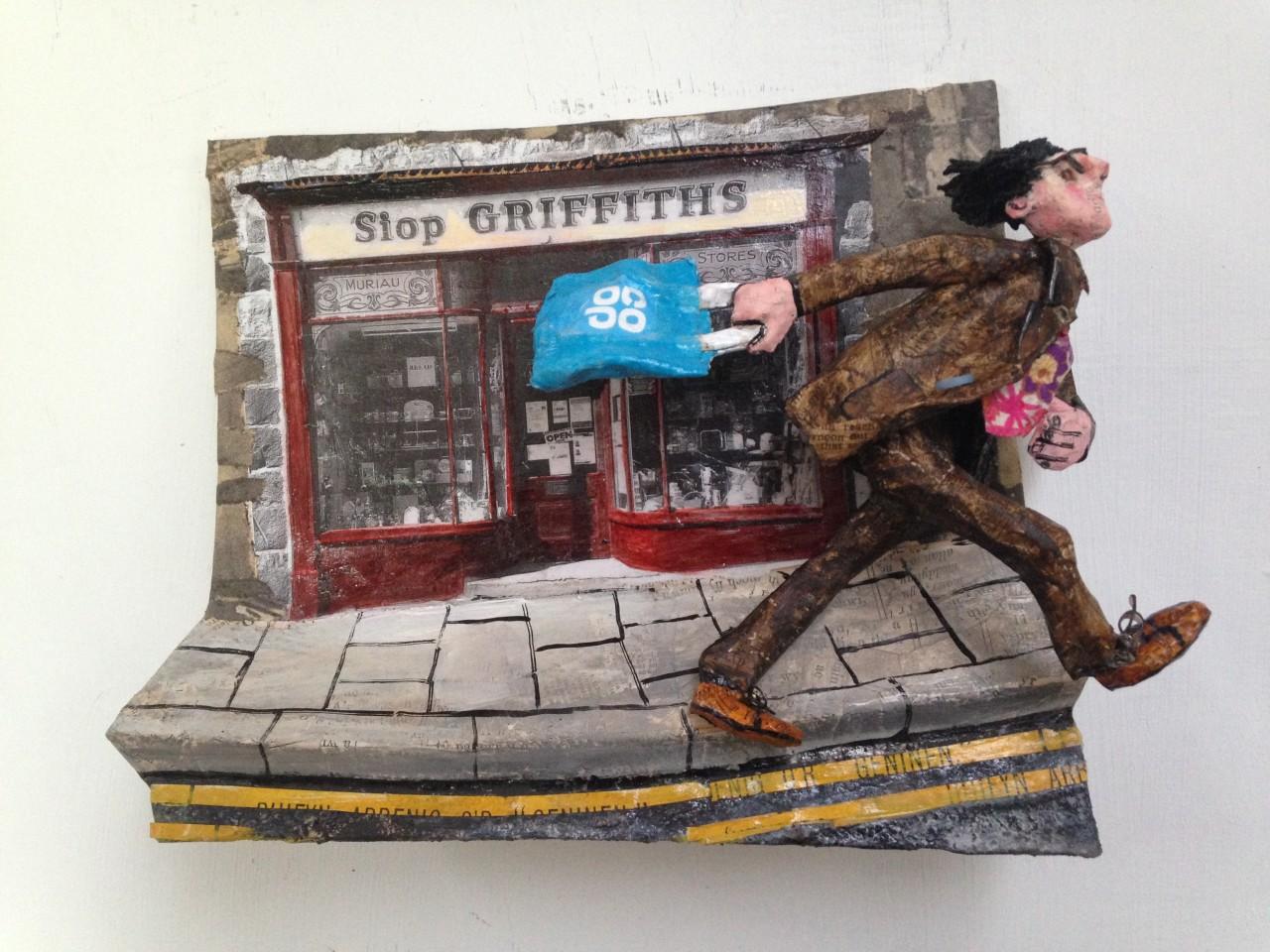 Luned Rhys Parri, Rhuthro Heibio Siop Griffiths / Rushing Past Siop Griffiths