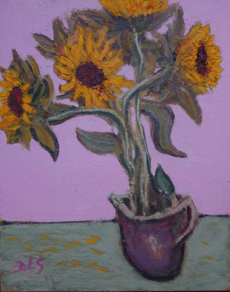 David Lloyd Griffith, Sunflowers