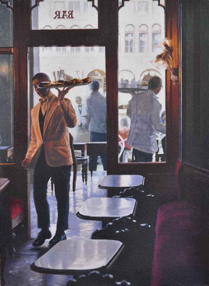 Mike Briscoe, Afternoon Tea at Florians