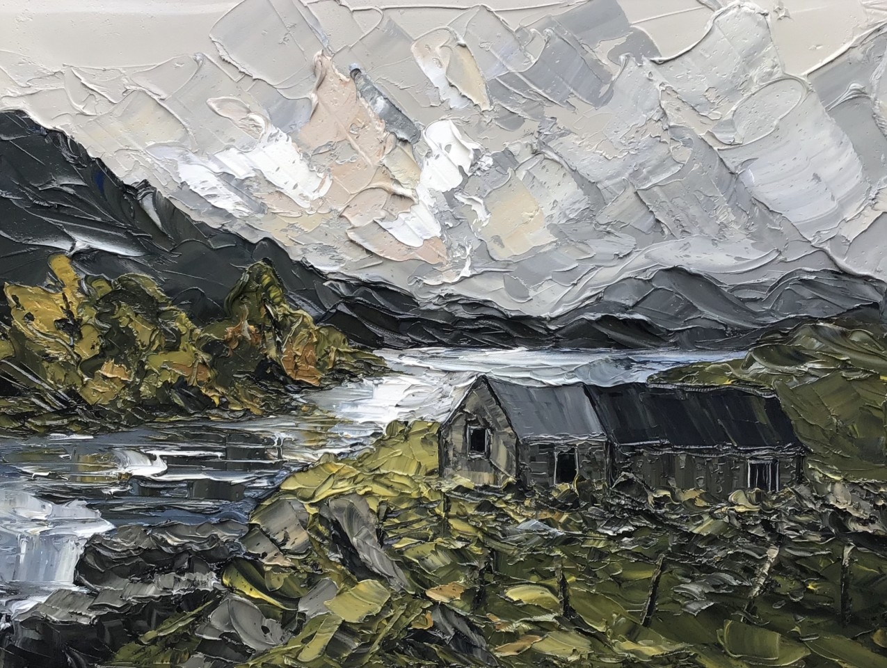 Martin Llewellyn, Cregennan Lake
