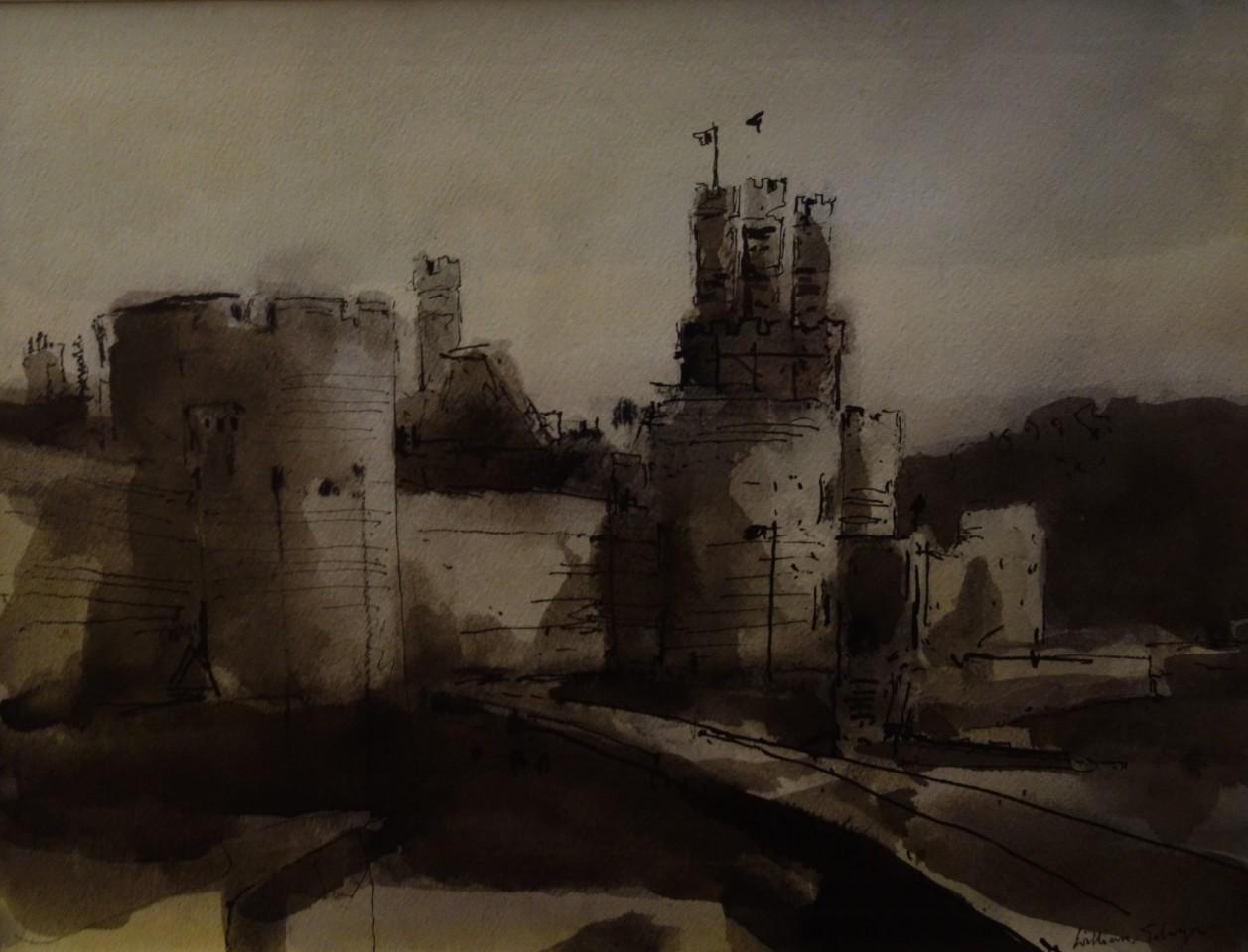 William Selwyn, Caernarfon Town Walls