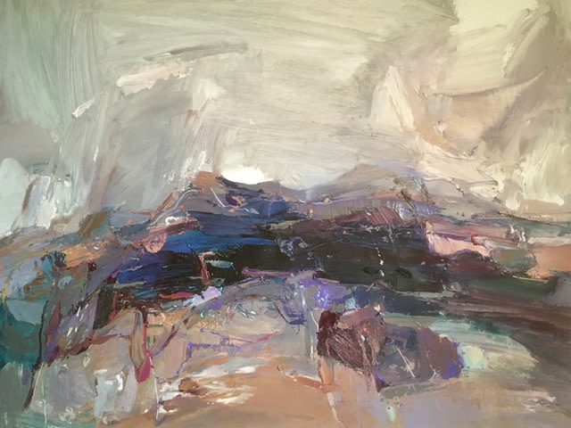Beth Fletcher, Study (Blue Rocks)