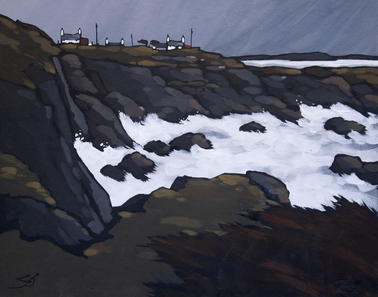 Stephen John Owen, Storm, Church Bay