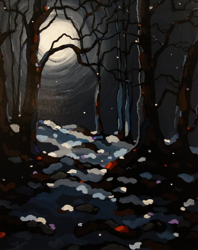 Stephen John Owen, Moonlit Woods