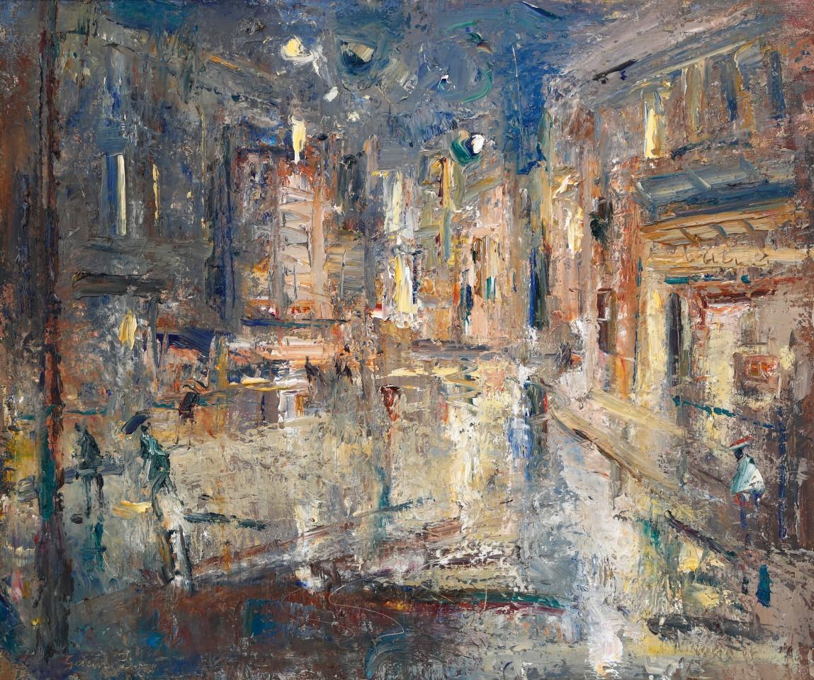 Gareth Parry, Tref Fechan, Noson Lawog / Small Town, Rainy Evening