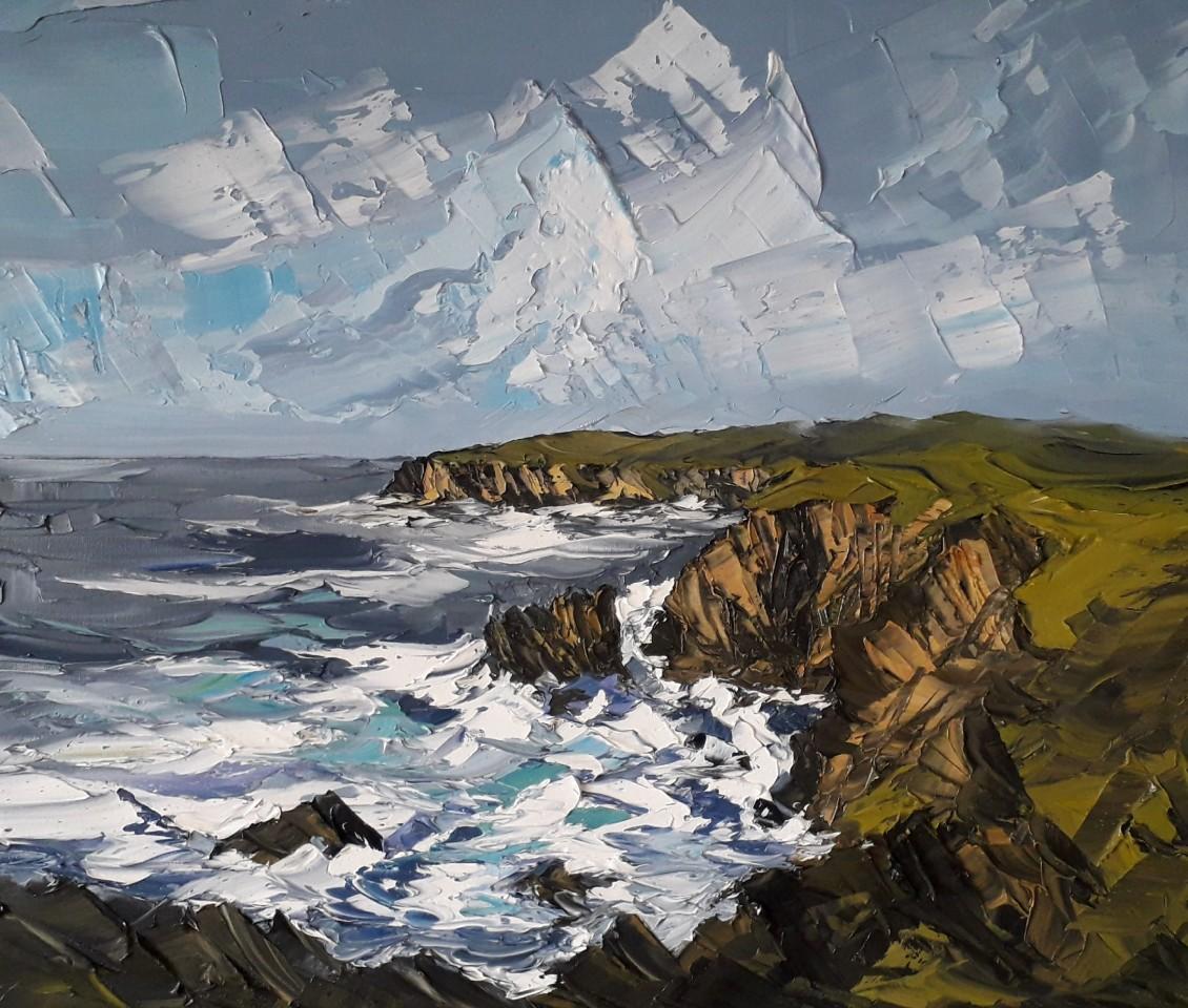 Martin Llewellyn, Cliffs, St. Bride's, Pembrokeshire
