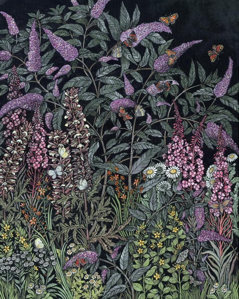 Barbara Winrow, Butterfly Bush