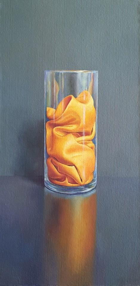 James Guy Eccleston, Golden Satin Vase