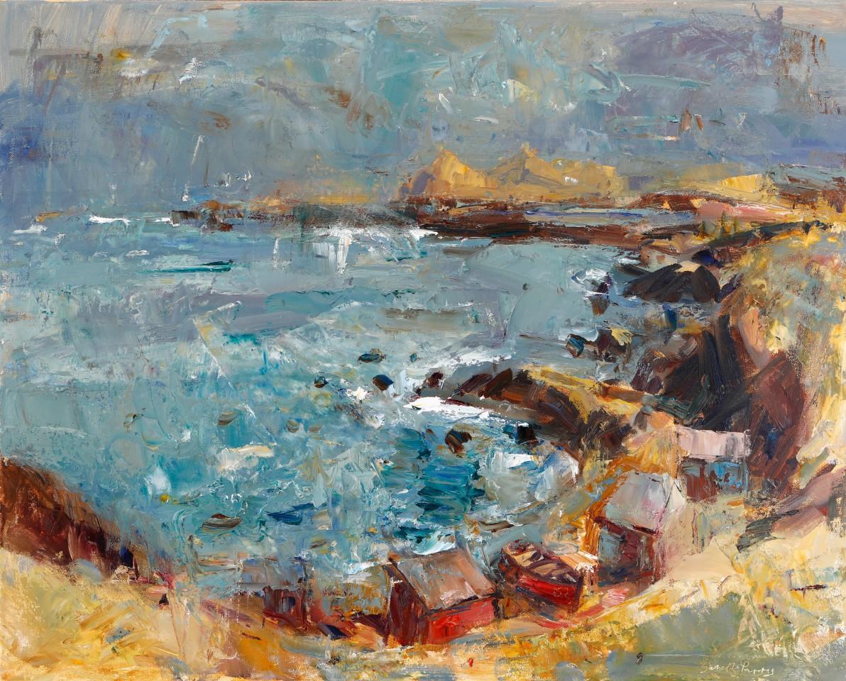 Gareth Parry, Haf, Môr a'r Eifl / Summer, Sea and distant Eifl