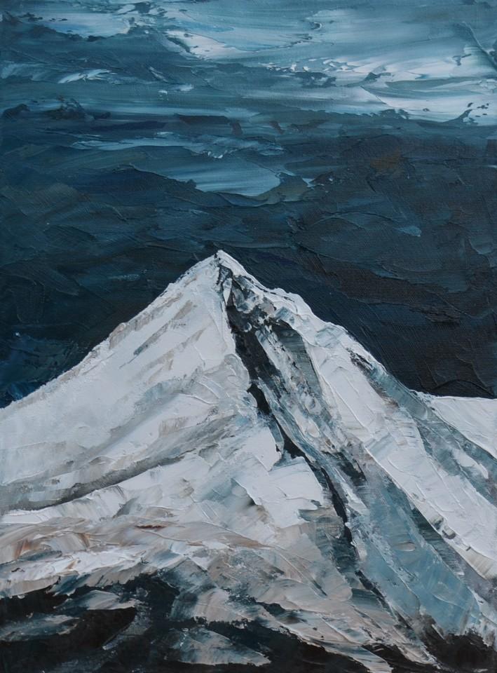 Gwyn Roberts, Cnicht, Eira / Cnicht, Snow