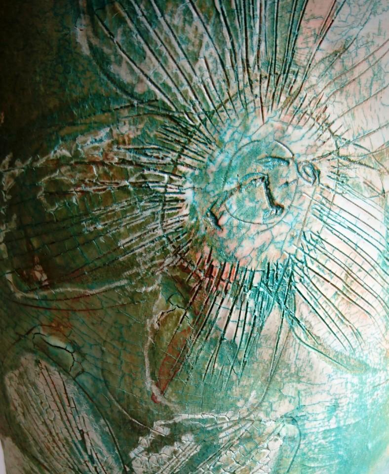 Sharon Griffin, Stone Warrior in Green