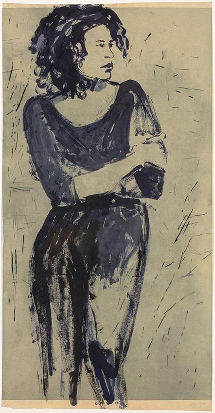 Astrid de La Forest, Sans titre (Figure n°2), 2018