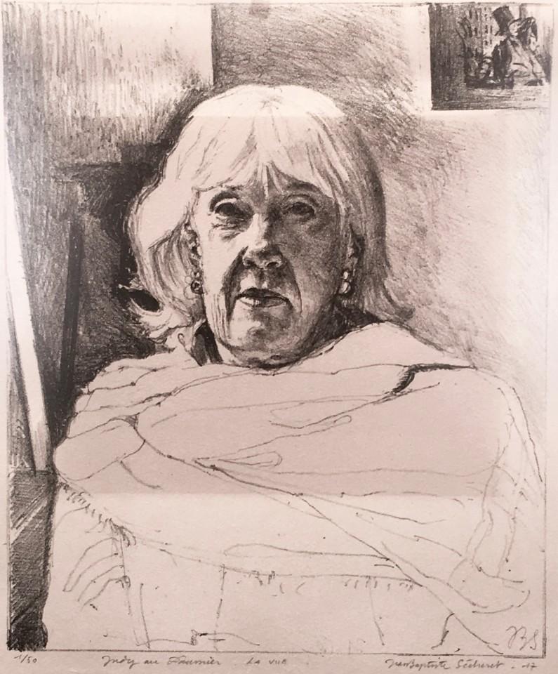 Jean-Baptiste Sécheret, Judy au Daumier - La Vue, 2017
