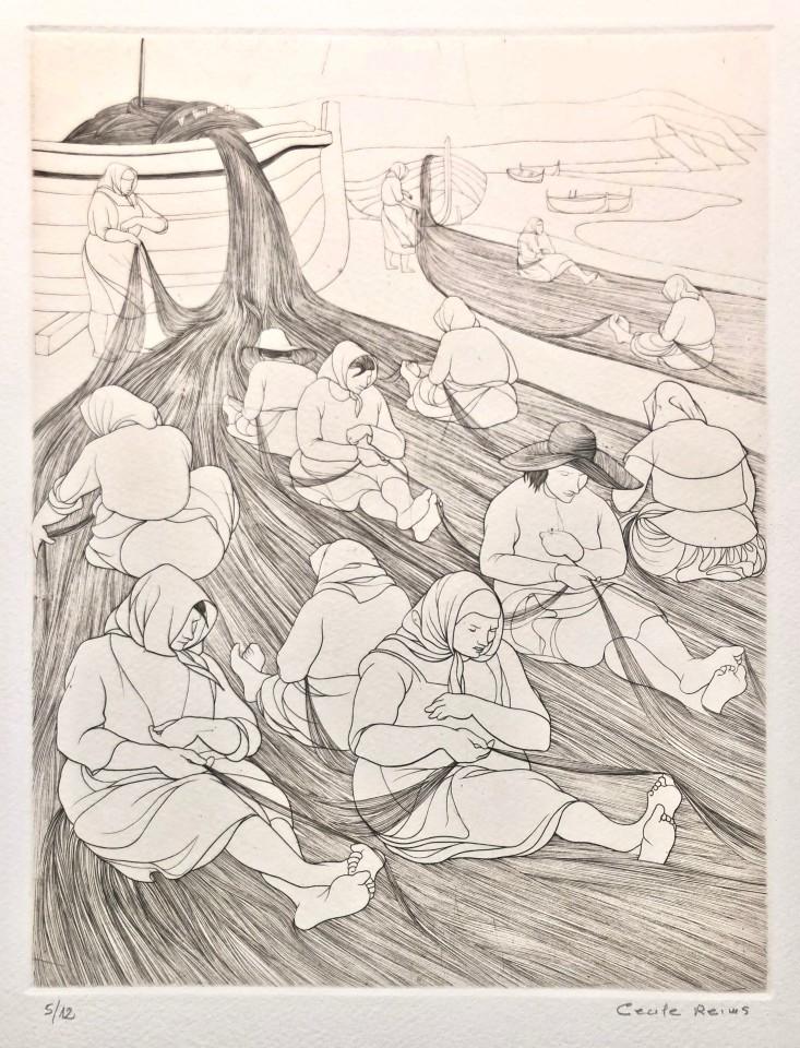 Cécile Reims, Espagne - gravure #16, 1951, édition en 2019