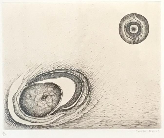 Cécile Reims, Paysages anatomiques - Gravure #19, 1995-2000, édition en 2017