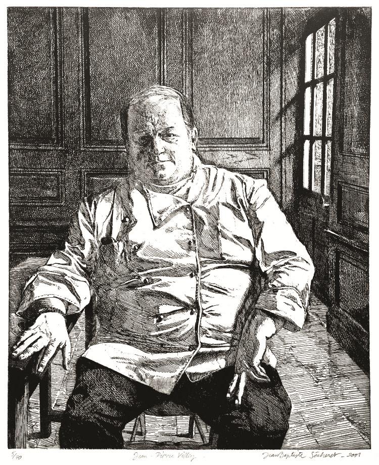 Jean-Baptiste Sécheret, Jean-Pierre Villey, chef de cuisine du restaurant