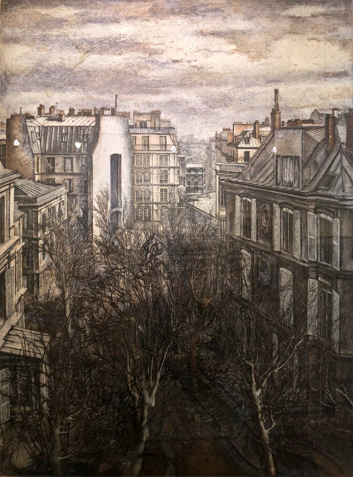 Érik Desmazières, Paris, 11 boulevard de Clichy, 1996