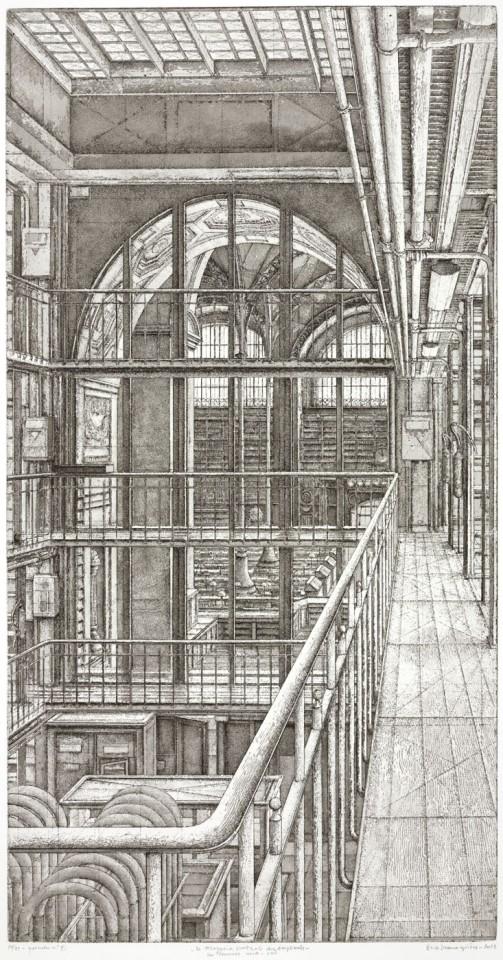 Érik Desmazières, Suite Le Magasin central des imprimés, 2013