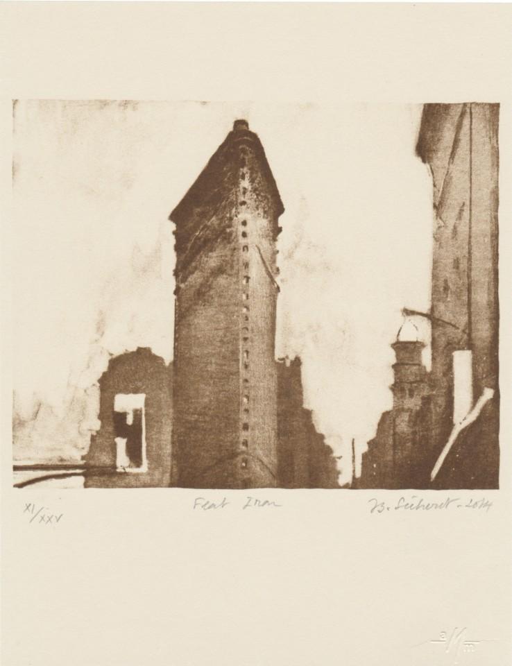 Jean-Baptiste Sécheret, New York, Flat Iron // Rome, château Saint-Ange, 2014