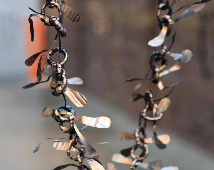 Andi Gut  Chain '27 Flights' (detail), 2016