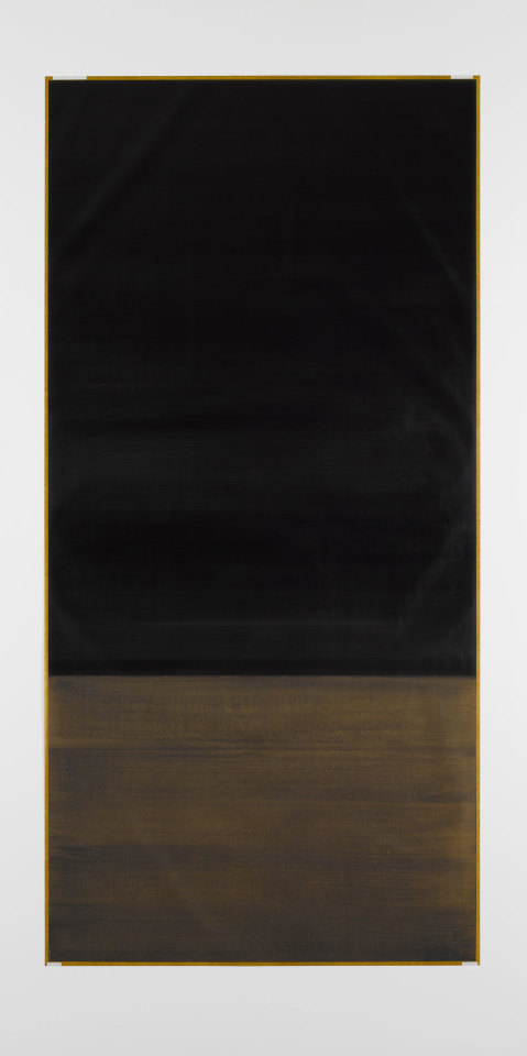 Untitled (from the Cento series) 2012 oil on paper 205 x 100 cm (paper size)