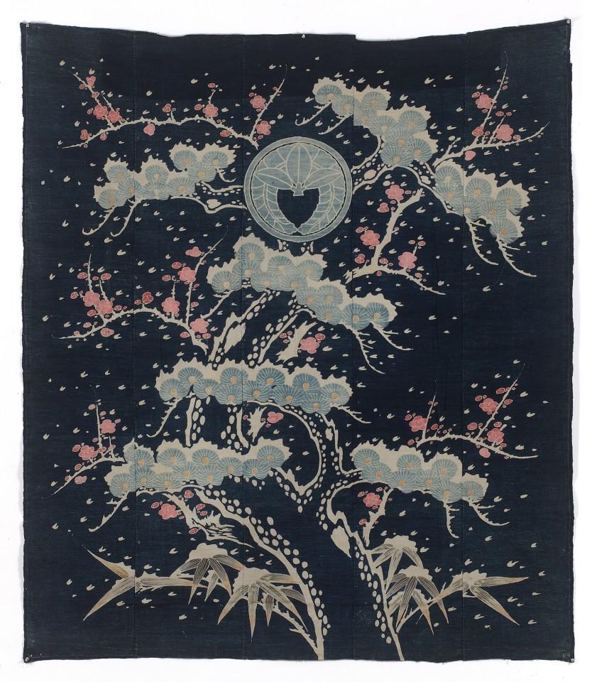 Textilien, #000795  Futon-gawa, 19. Jh.