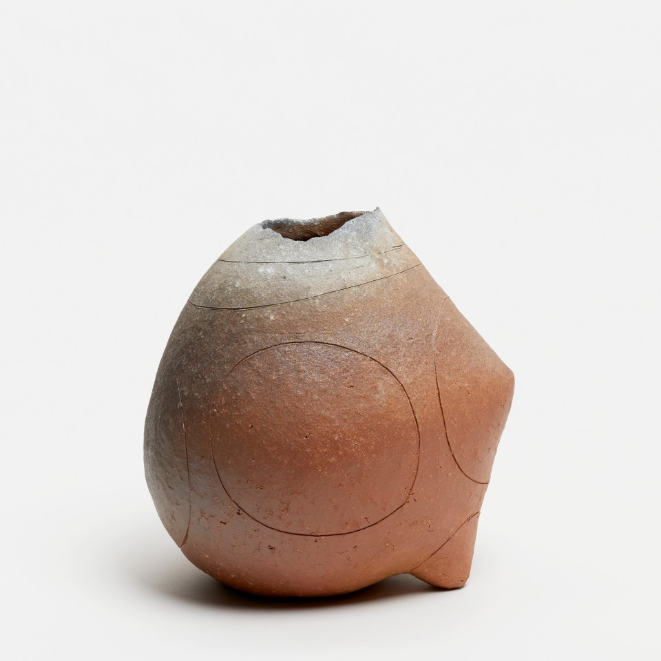 Yasuhisa Kohyama, #022060  Suemono (antike Keramik), Vase, 2017