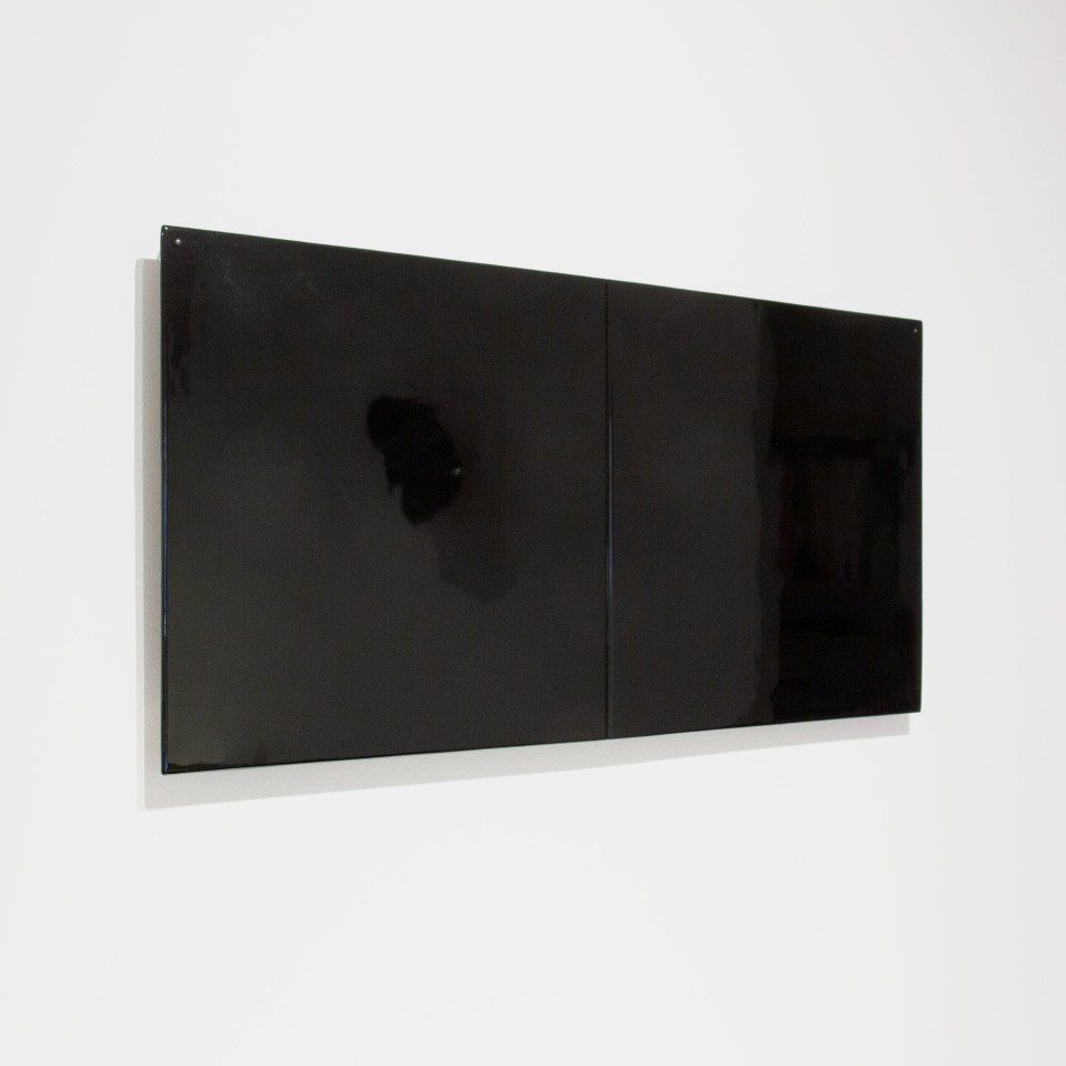 Joachim Bandau, #021915  o.T., 2008 / schwarz, 2008