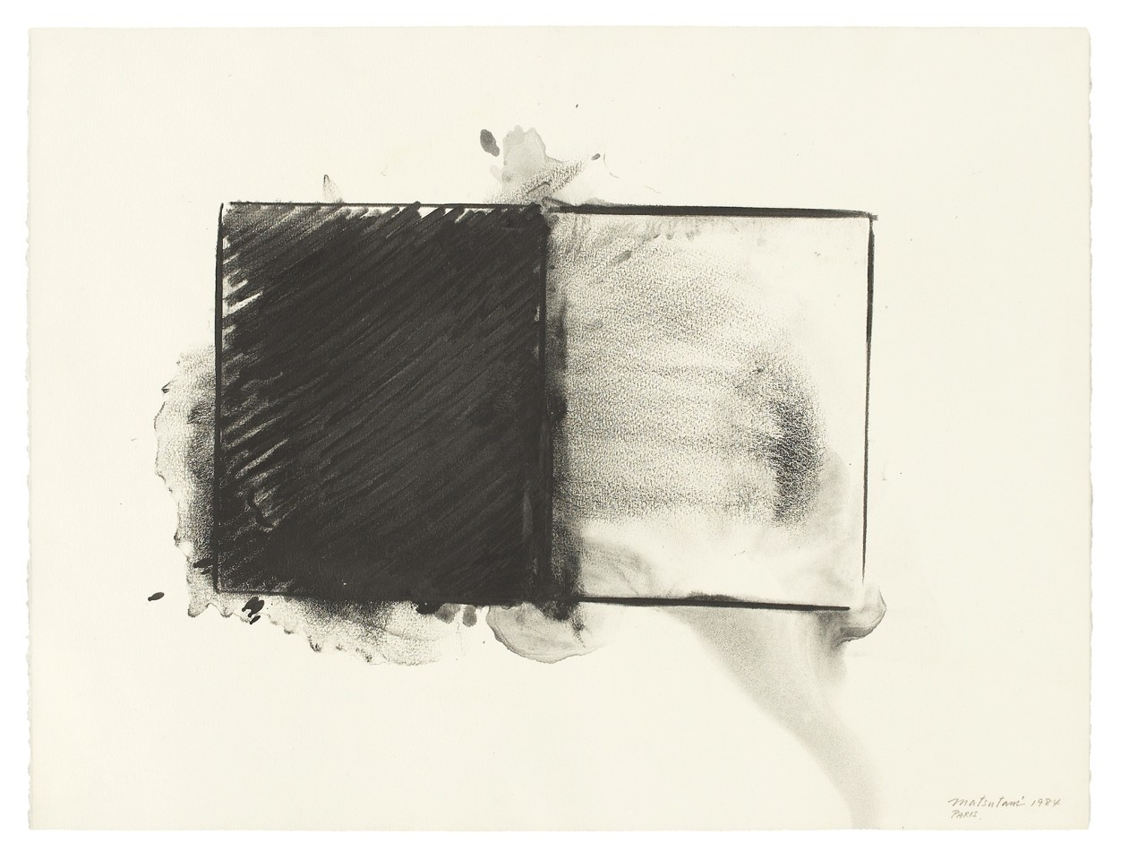 Takesada Matsutani, #003347  Two Rooms, 1984