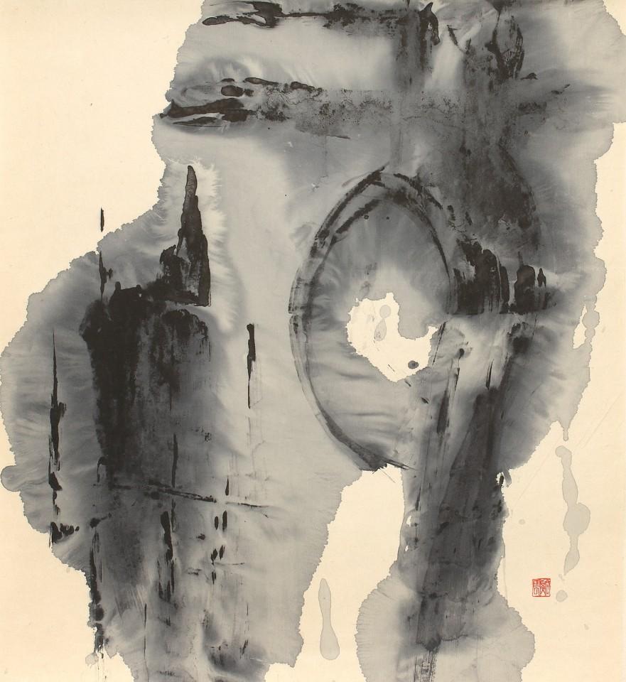 SHO-Künstler, #016291  Takashima Kei'un (*1929), um 1960