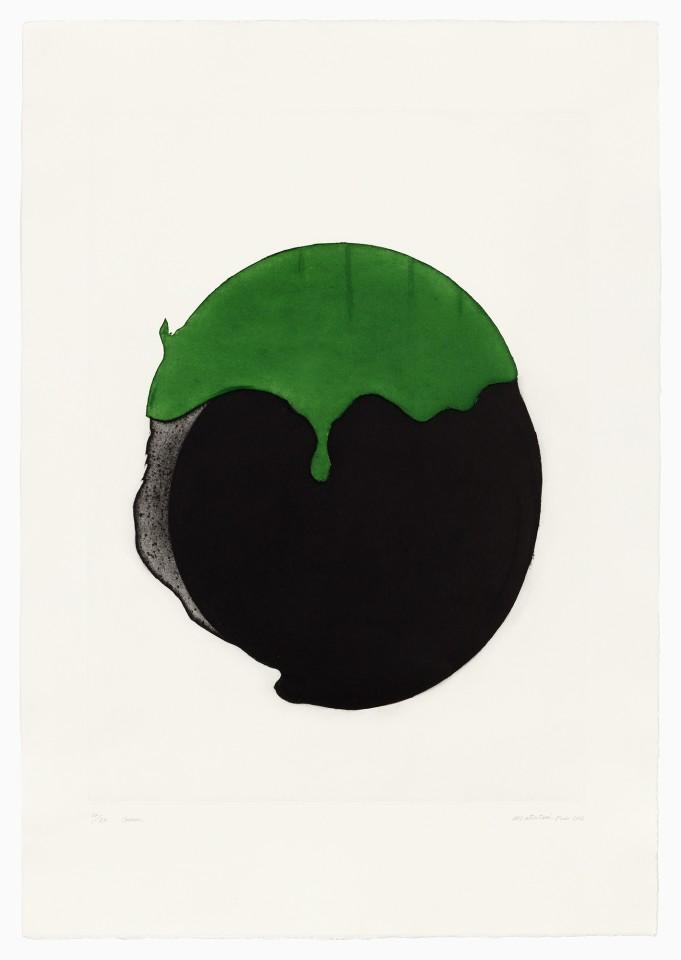 Takesada Matsutani, #021615  Green, 2016