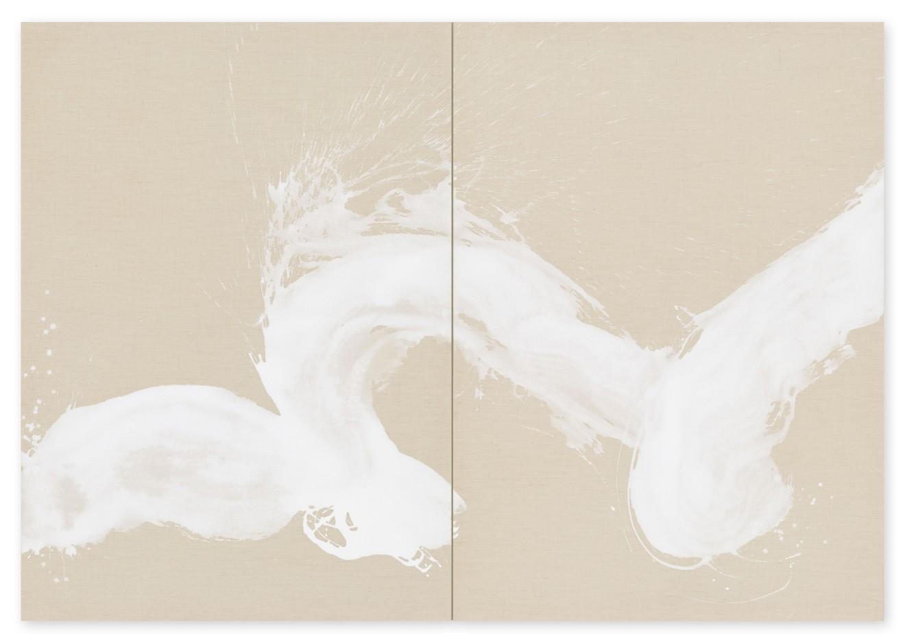 Hiroko Nakajima, #021886  Vague blanche II, 2018