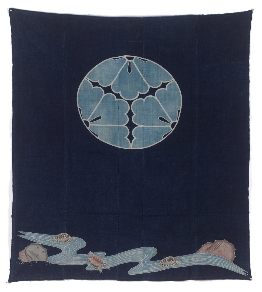 Textilien, #000799  Futon-gawa, 19. Jh.
