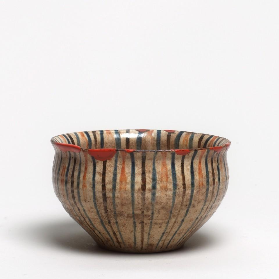 Keramik, #000169 Mugiwara-Hachi - Schale, 2. Hälfte Edo-Zeit (1615-1868)