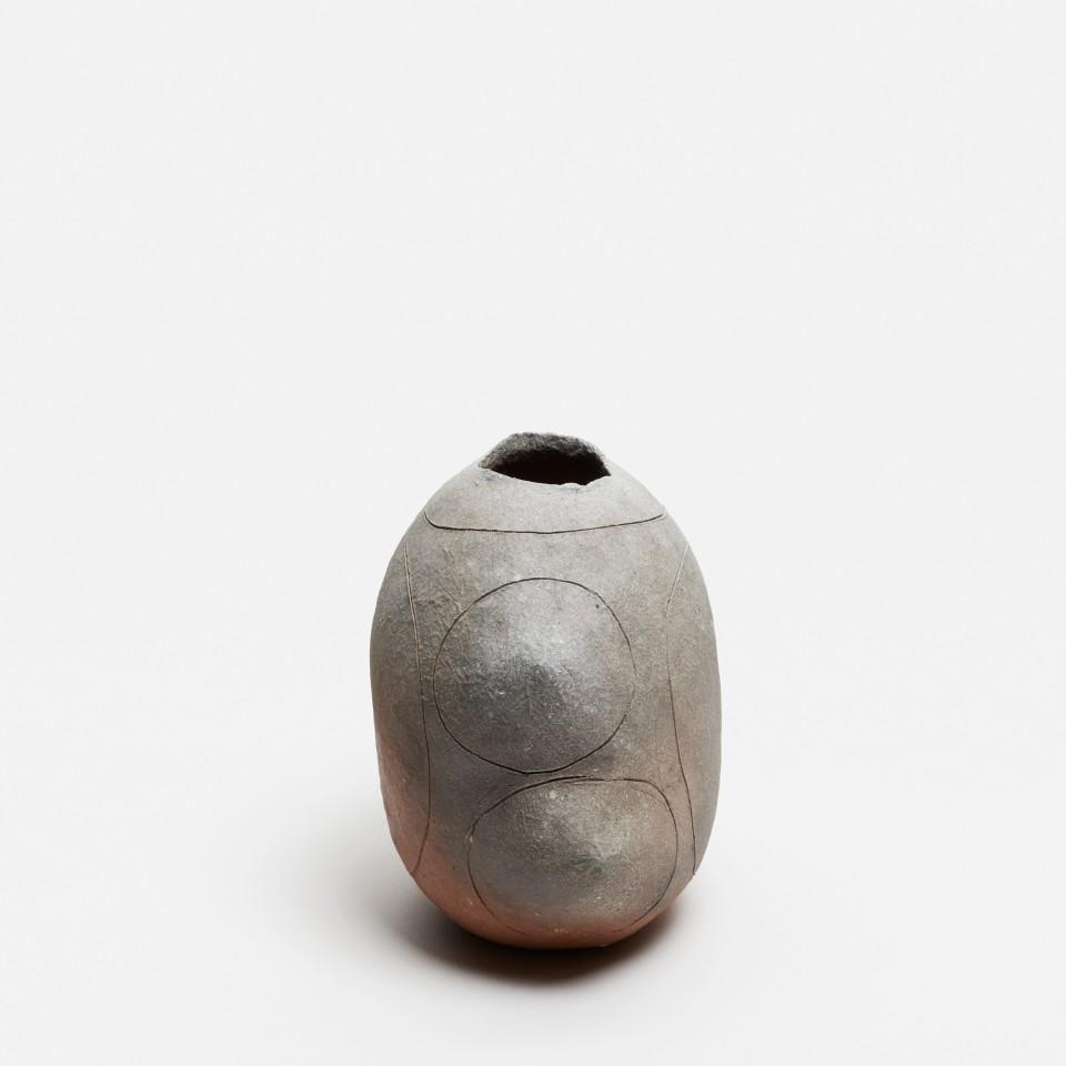 Yasuhisa Kohyama, #022064  Suemono (antike Keramik), Vase, 2018