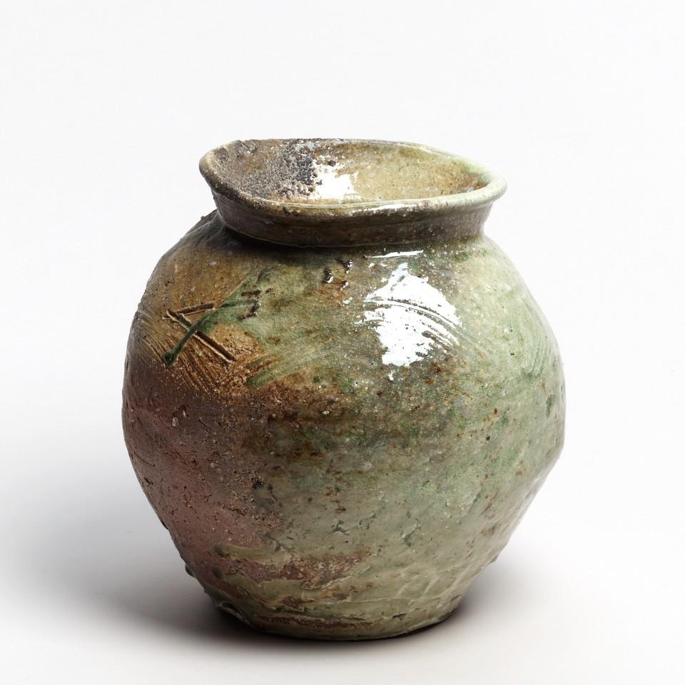 Kei Tanimoto, #020168  Vorratsgefäß (tsubo), Iga-Typ, 2010