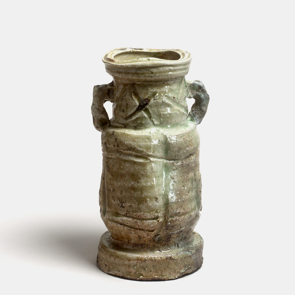 Kei Tanimoto, #019477  Vase (hanaire), Iga-Typ, 2010