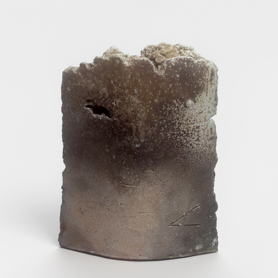 Kei Tanimoto, #019633  Vase (hanaire), Iga-Typ, 2011