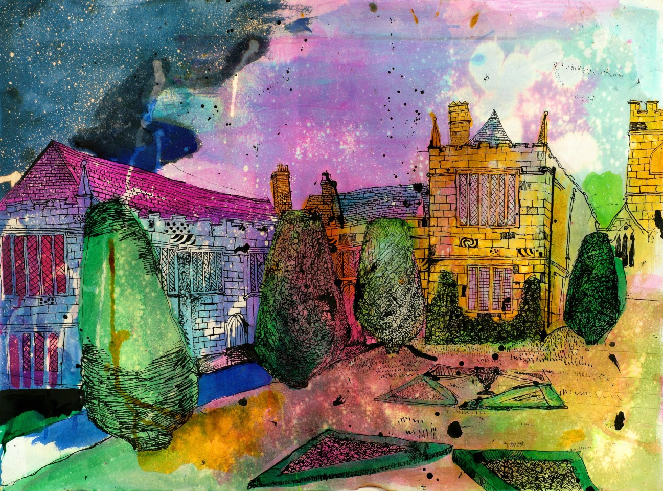 Christopher James Tate, TATE's CORNWALL: LANHYDROCK HOUSE