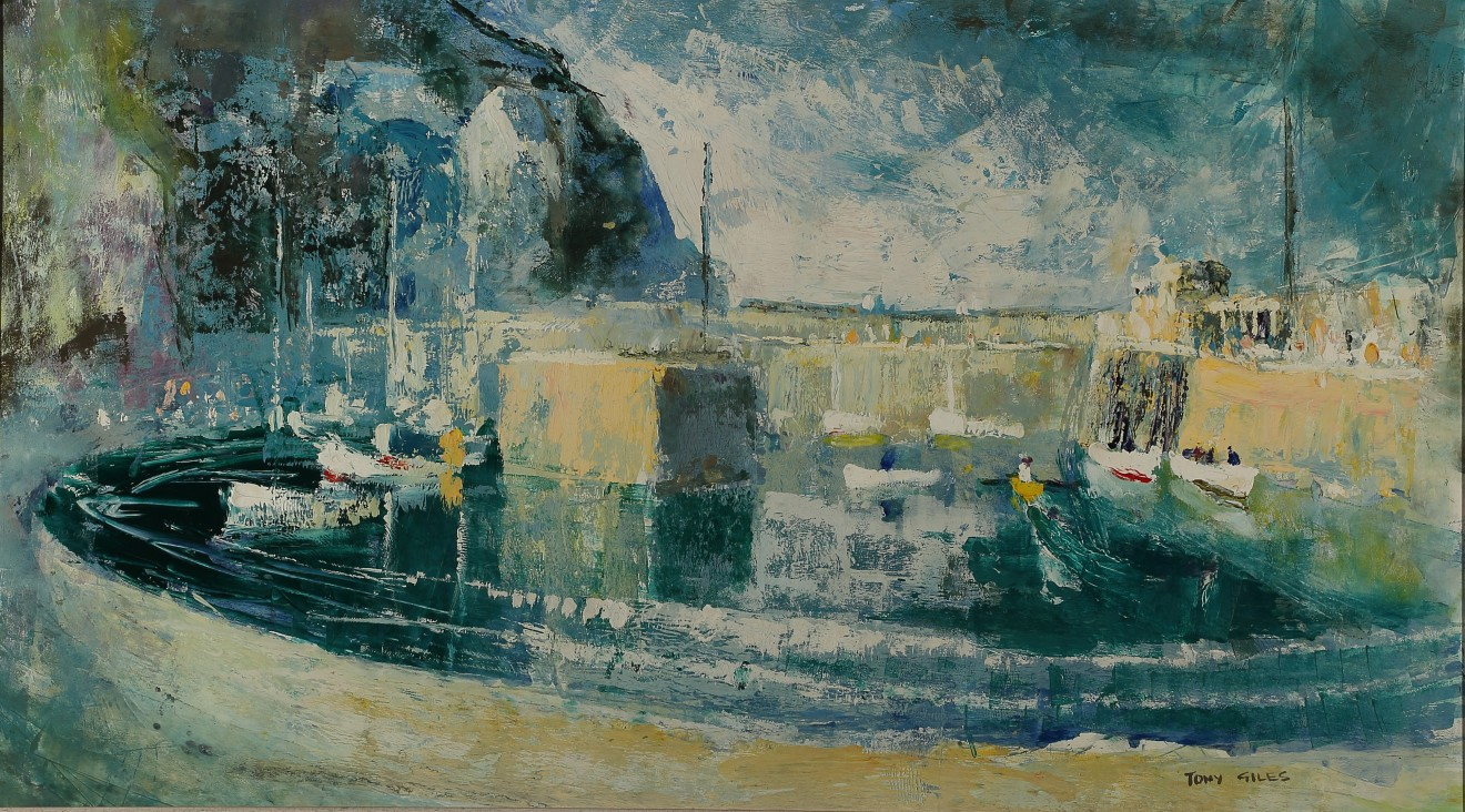 TONY GILES, NEWQUAY HARBOUR
