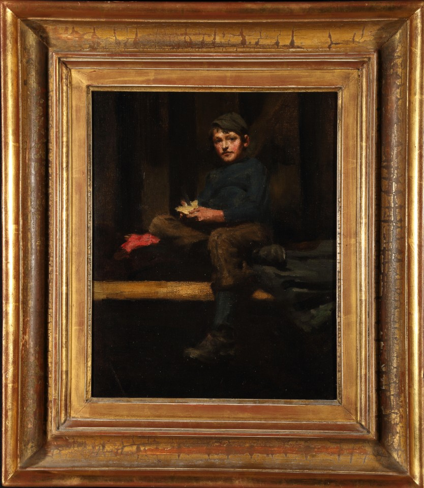 Henry Scott TUKE, AMBROSE ROUFFIGNAC -DINNER TIME, 1883