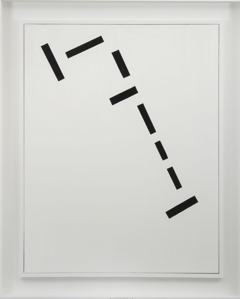 Keith Coventry, Goschen Estate, 1999 Oil on linen, glass and wood  112 cm x 91.5 cm x 5.5 cm, framed  Copyright: Keith Coventry | Courtesy Pace Gallery