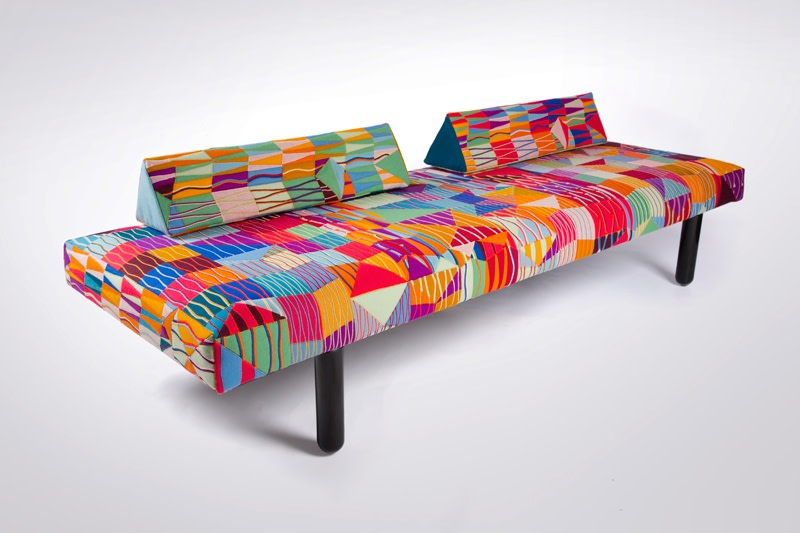 Bethan Laura Wood , Guadalupe Daybed, 2014