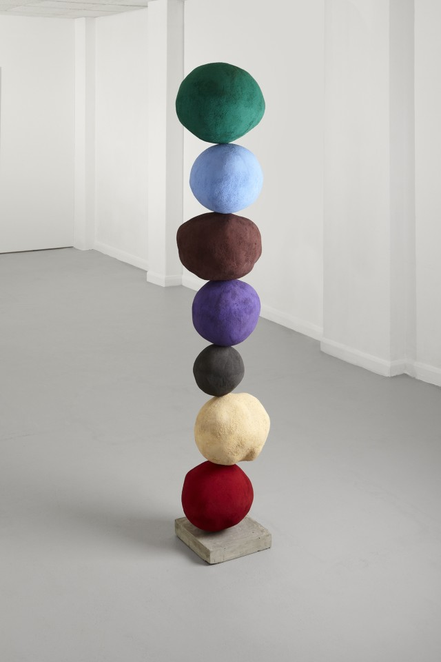 Annie Morris, Stack 7, Veridian Green, 2014