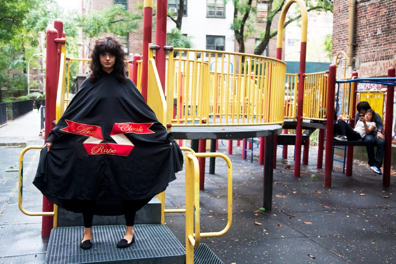 Sarah Maple, Playground Cloak, 2015
