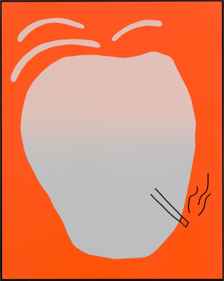 Cornelia Baltes, Untitled (the joker), 2015