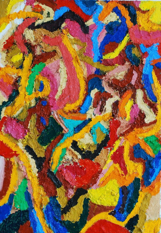 Ralph Hunter-Menzies, Abstract Composition II