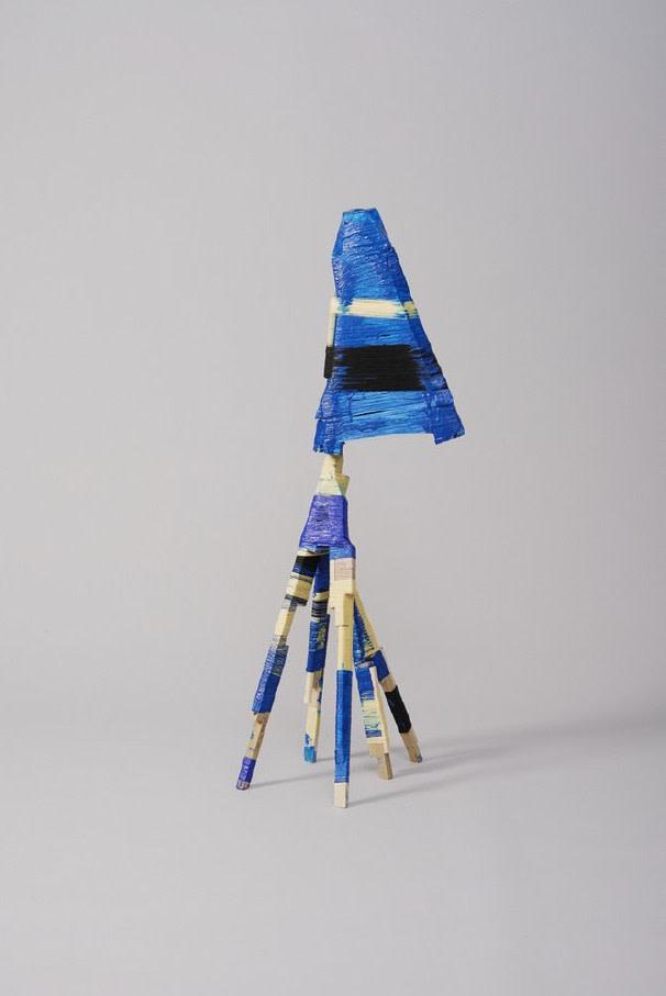 Anton Alvarez, The Thread Wrapping Machine Lamp 031213, 2014