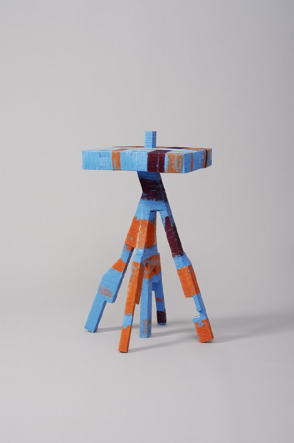 Anton Alvarez, The_Thread_Wrapping_Machine_Side_Table_130214, 2014